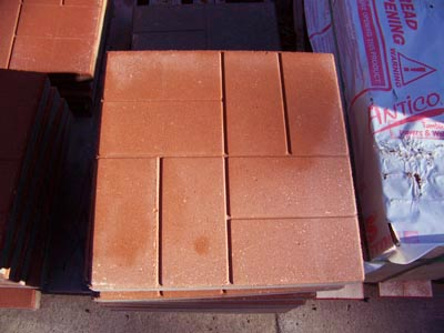 16 x 16 Brick Livonia Michigan, Patio Blocks Livonia Michigan, Porch Steps Livonia Michigan, Cement Edging Livonia Michigan
