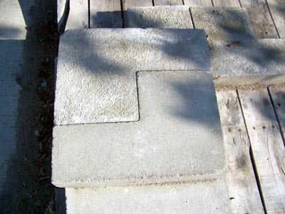 Three Step Riser Livonia Michigan, Patio Blocks Livonia Michigan, Porch Steps Livonia Michigan, Cement Edging Livonia Michigan